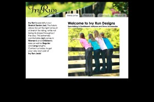 Ivy Run Website